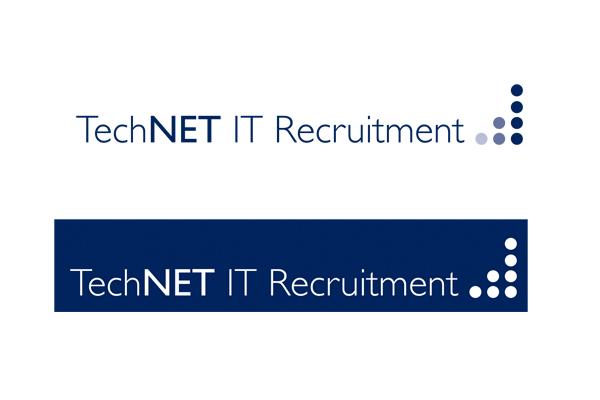 Design concepts/branding, Wordpress development for TechNET IT Recruitment